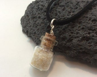 birthstone bottle of gems - november - citrine