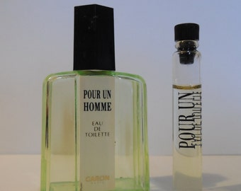 Miniature fragrance for a man of CARON