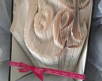 Noel hand folded book