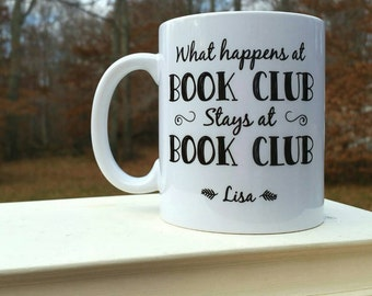 Christmas Gift for Book Club - Book Club Gift - Coffee Mug - Unique Gift Idea - Christmas - Christmas Gift - Present - Christmas Gift Idea