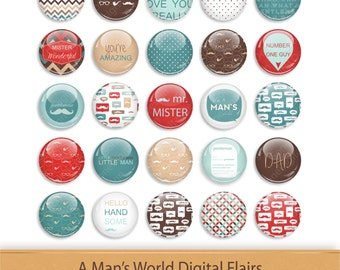 Flairs Flair Button Clipart Scrapbooking Brads Scrapbook Kit