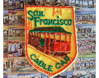San Francisco Cable Car embroidered patch