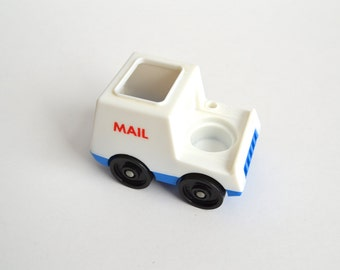 1970's Fisher Price Little People Mail Truck/Postal Truck