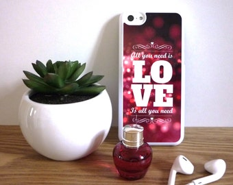 IPhone 5C White Case Message Need Love