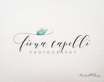 Butterfly logo, Photography watermark, Photography logo, Logo design, Handwritten , Watermark 355