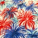 Authentic Lilly Pulitzer signature fabric Multi Feeling Sparks cotton twill  18 X 18 inches