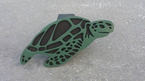Sea Turtle trailer hitch cover