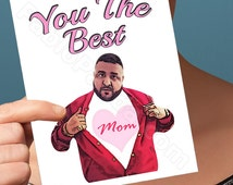 Dj Khaled | Funny Mothers Day | Another One Key To Success  Funny Cards Gift For Mom  Greeting Cards I Love You Card  Mom Daughter Card Card