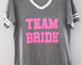 Team Bride Jersey Tee