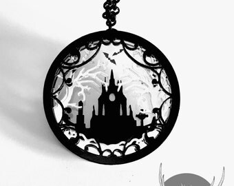 Saturday Showcase - Dearly Departed Diorama Necklace