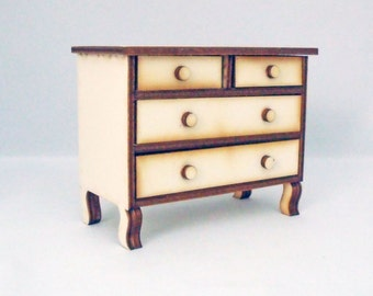 Chest of Drawers 1:12 th Kit