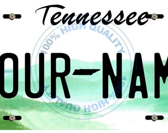 Personalized Custom Tennesse Car Vehicle License Plate Auto Tag