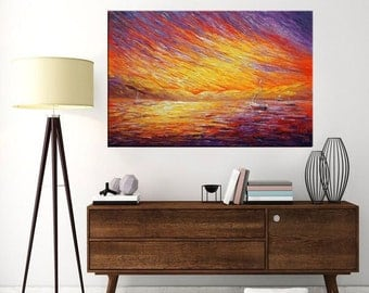 Landscape Painting, Abstract Painting, Canvas Art, Oil Painting, Wall Art, Abstract Art, Canvas Art, Canvas Painting, Large Art, Painting