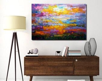 Original Art, Abstract Art, Canvas Painting, Abstract Painting, Canvas Art, Wall Art, Large Art, Wall Art, Abstract Art, Landscape Painting