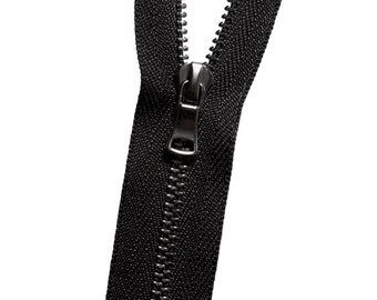 Metal No. 3 Zipper - Gunmetal