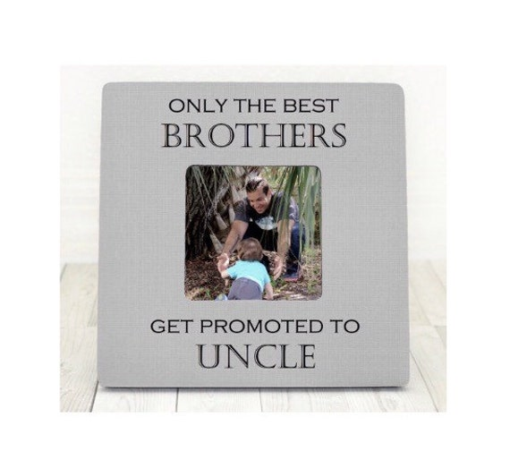 gift for uncle personalized picture frame for uncle brother brother in law from niece nephew only