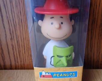 Lucy Peanuts Gang Halloween Bobble head New in Box Lucy as a Witch Its the Great Pumpkin Charlie Brown Cartoon Charlie brown movie