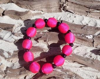 fun pink bracelet