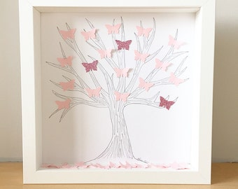 Butterfly art, gifts for her, butterfly decor, home decor, wall decor, butterfly nursery, nursery decor.