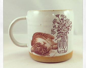 Just a Fabulous Cup- Push Push the Cat