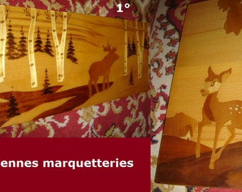 old marquetry