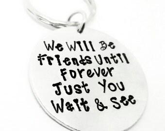 Friends Forever Keyring - Cute Best Friend Gift