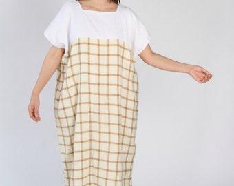 Linen Dress - Double Layer