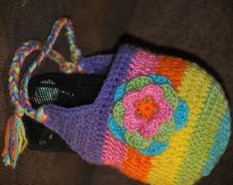 Over the Rainbow Earflap Hat
