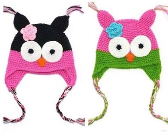 Crochet owl Beanie!!