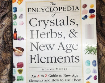 Essential Guide to New Age BOOK, Crystals, Herbs, Essential Oils, and more