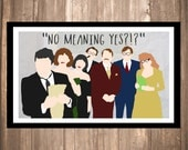 "INSTANT DOWNLOAD - Clue ""No Meaning Yes?"" Print"