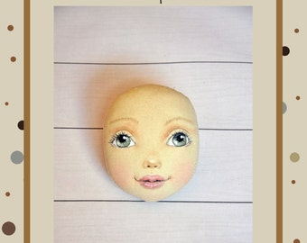 PDF, Cloth Doll Pattern,PDF Sewing Tutorial,Soft Doll Pattern
