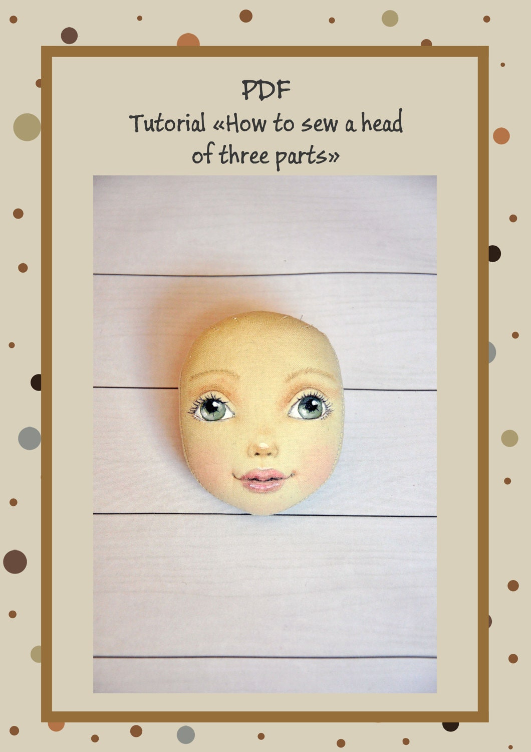 how to make soft doll patterns