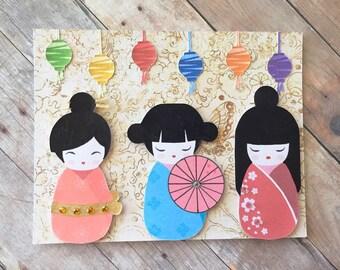 Little Geishas Card