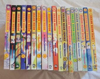 Pretty Soldier Sailormoon Complete Tokyopop Edition Manga