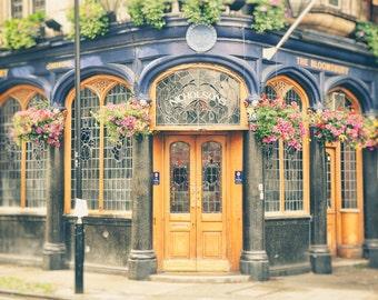 London Pub, London Photography, English Pub, British Pub, Fine Art Print, Travel Photo, England, Kitchen Decor, Office Decor, Wall Art