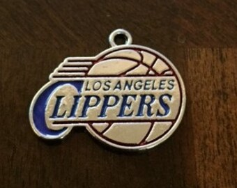Los Angeles Clippers Basketball Charm