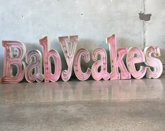 Babycakes Neon Store Sign (WFBDED)