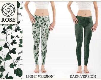 Leggings - Poison Ivy / Batman - Light & Dark Version