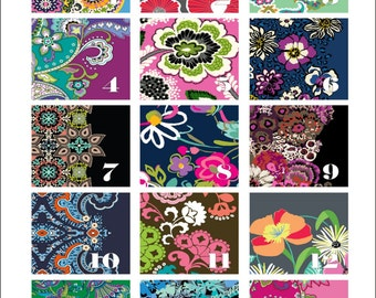Vera Bradley Inspired Adhesive ORACAL Permanent Vinyl...Choose Your  Favorite Pattern And Size