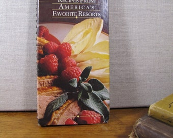 Vintage Cookbook - Benson & Hedges - Recipes From America's Favorite Resorts - Spiral Bound