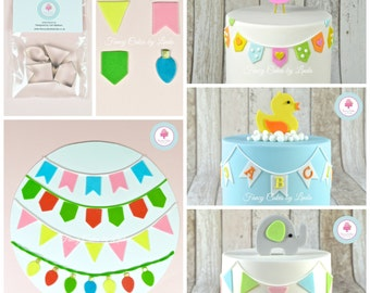 Fancy Cakes by Linda Bunting Cutter Set (set of 4 designs) Perfect for Sugarcraft Cake Decorating
