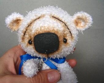 White Crochet Teddy Bear
