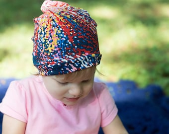 Baby stretchy slouchy hat