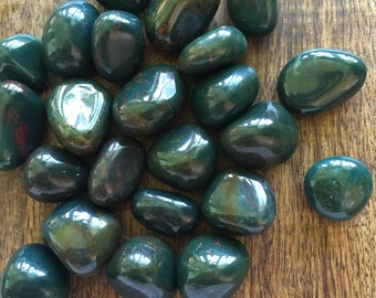 Bloodstone Crystal Healing Stone Energy Centers Alignment Chakra Wicca Reiki Zen New Age Metaphysical Got Rockz
