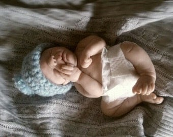 REDUCED PRICE!!! Free shipping for Italy. clay ooak baby 17 cm