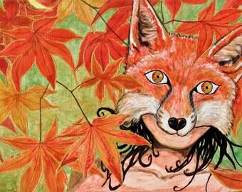 Hidden. Original: acrylic on canvas. High quality canvas paper printing