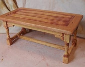Miniature Shabby Chic Refectory Table