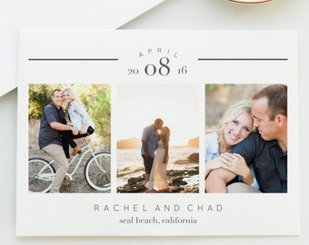 Classy Arch Save The Date Card