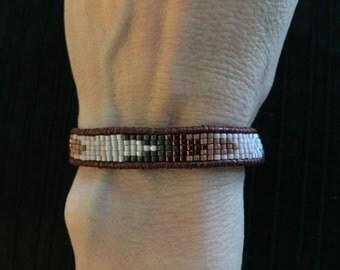 PINK OMBRE Beaded Bracelet